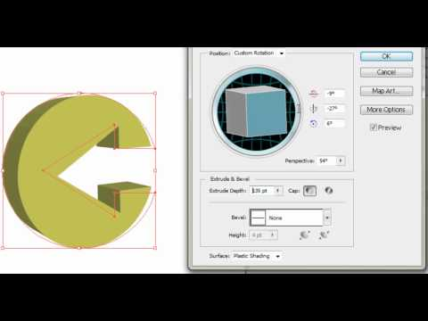 3D logo design tutorial (illustrator cs5)