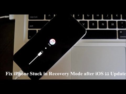 HOW TO FIX iPHONE OR iPAD STUCK IN RECOVERY MODE AFTER iOS 11 BETA 2 UPDATE+WORKING PROOF(EASY WAY)
