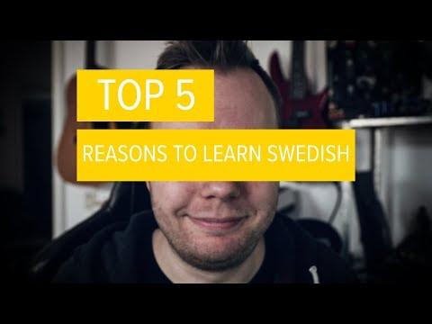 TOP 5 Reasons To Learn SWEDISH