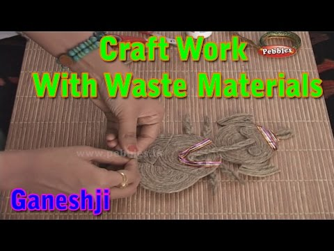 Ganeshji | Craft Work With Waste Materials | Learn Craft For Kids | Waste Material Craft Work