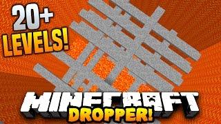 Minecraft LAVA DROPPER! (20 Levels of Death!) w/PrestonPlayz & MrWoofless