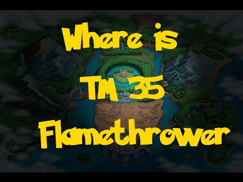 Where Is: TM 35 - Flamethrower (Pokemon Black 2/White 2)