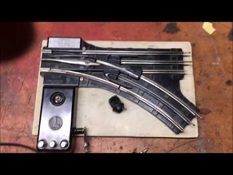 Herb's Refurbishing Postwar Lionel 022 Remote Switch Tracks