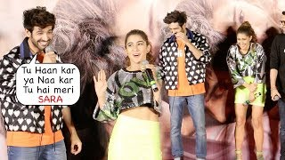 Kartik & Sara NAILED IT ! Back To Back FUNNY Moments | Love Aaj Kal Trailer Launch