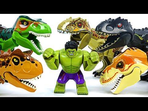 TRUMP JURASSIC WORLD Dinosaur Park GRAND OPENING Toys Video