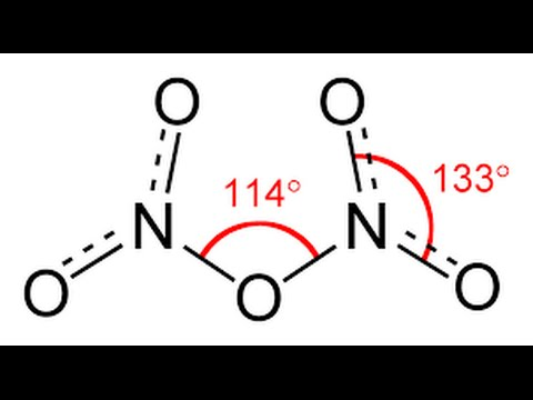 Nitrogen oxides and their strucure and their important Reactions
