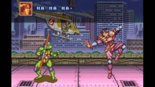 Gameplay: Teenage Mutant Ninja Turtles: Tournament Fighters