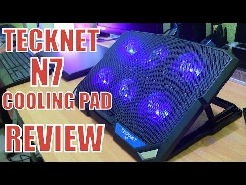 Tecknet N7 Laptop Cooling Pad Review // TEMP TEST