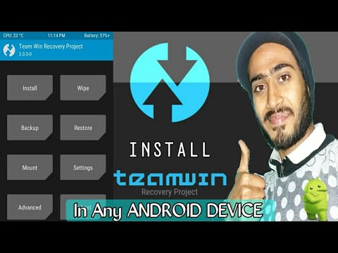 HINDI, Install Twrp Recovery In Any Android Device, In 2 Min Install Twrp Fastly and easily. 😀