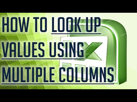 [Free Excel Tutorial] HOW TO LOOKUP VALUES USING MULTIPLE COLUMNS IN EXCEL - Full HD