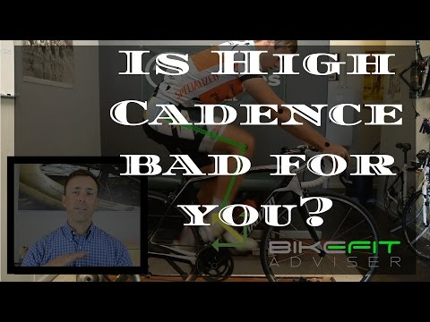 Is cycling with High Cadence bad for you?