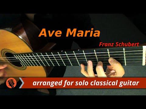 Ave Maria - Franz Schubert (Transcribed for Classical Guitar)