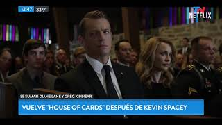 """Vuelve """"House of Cards"""" sin Kevin Spacey"""