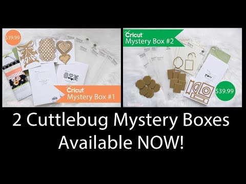 CuttleBug Mystery Boxes - Available NOW!!