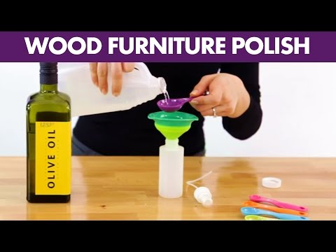 Wood Furniture Polish - Day 8 - 31 Days of DIY Cleaners (Clean My Space)