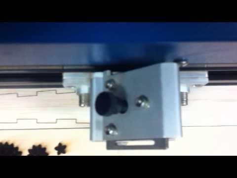 Sailplane lasercutting