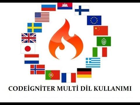 Codeigniter Multi Language Kullanımı  [Çoklu Dil Destekli Proje Yapımı ]