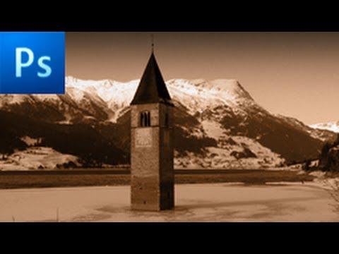 Photoshop Tutorial: Create a Sepia Effect -HD-