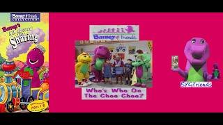 "Barney & Friends Season 3, Episode 16: Who's Who on the Choo Choo? aka ""All Aboard"" (1999 VHS)"