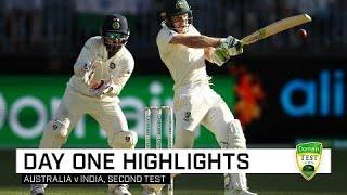 Aussies battle hard against valiant India | Second Domain Test