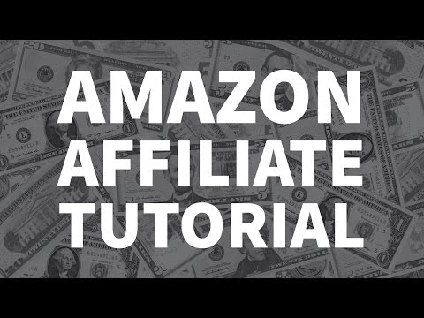 How to Make Money with a Blog - Amazon Affiliate and other Affiliate Program Tutorial