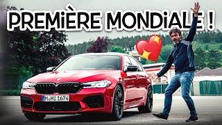 La nouvelle BMW M5 LCI, première mondiale !