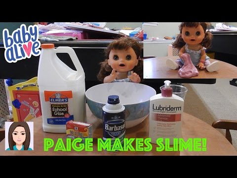 Baby Alive Paige Makes Slime!