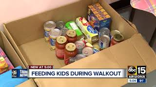 Free lunch donations organized for students during Arizona teacher walkout