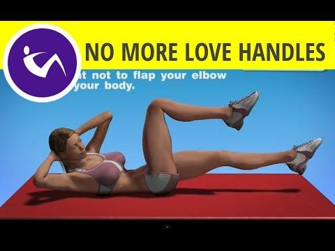 Abdominal Exercises For Women - Air bike