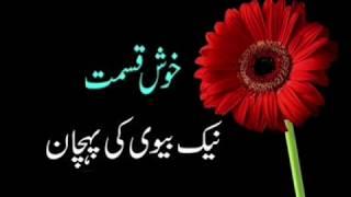 Khush Naseeb Aurat ki Pehchan : Quran Hadees
