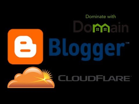 How to Setup Domain - CloudFlare - Blogspot