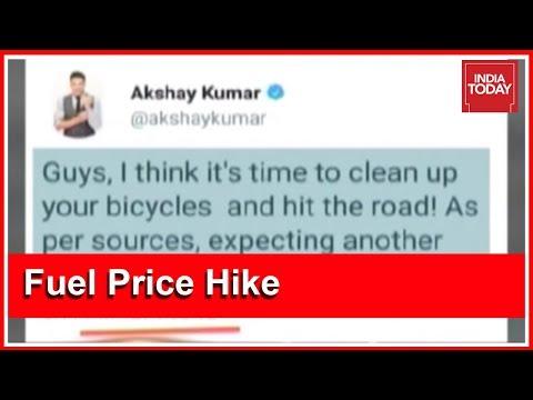 Akshay Kumar Trolled On Social Media For Deleting Old Tweet Criticising Fuel Hike