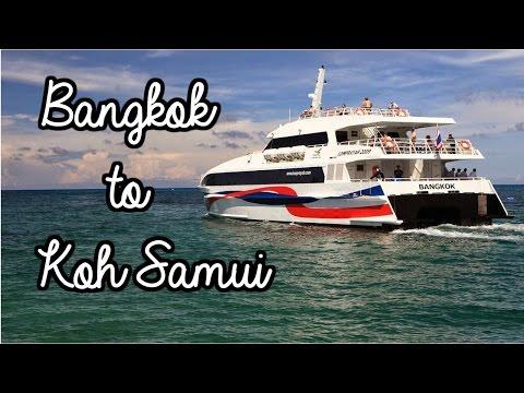 BANGKOK TO KOH SAMUI - THE BUDGET WAY & SAVE ฿฿฿