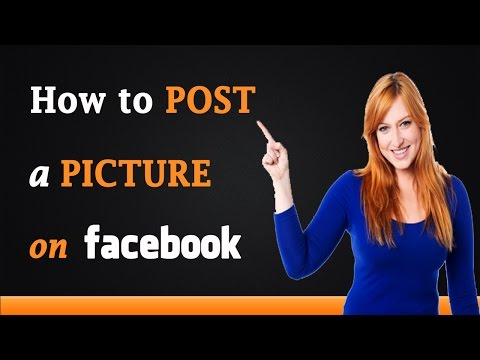 How to Post a Picture on Facebook