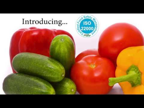 ISO 22000 Jiffy Food Safety Management Certificate