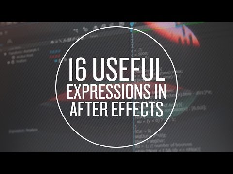 16 Useful Expressions in After Effects - Part 1 of 2