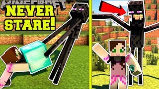 Minecraft: *NEVER* LOOK AT ENDERMAN