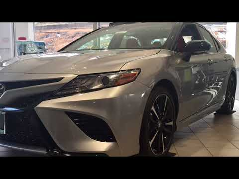 The 2018 Camry XSE- Visit our Show Room today
