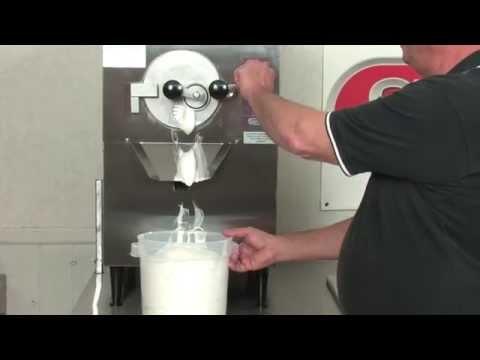 SaniServ® Model B-5 & Model B-10 Batch Freezer Ice Cream Machine Training Video