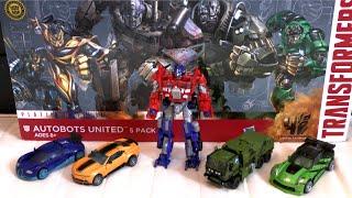 TRANSFORMERS 4 Age of Extinction AUTOBOT PLATINUM EDITION Autobots United 5 pack   ATR