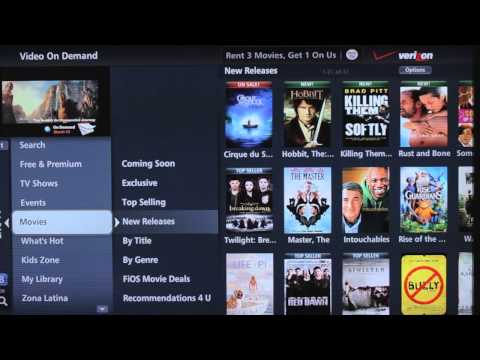 Faces of FiOS Demo - Easily Order On Demand Movie Titles