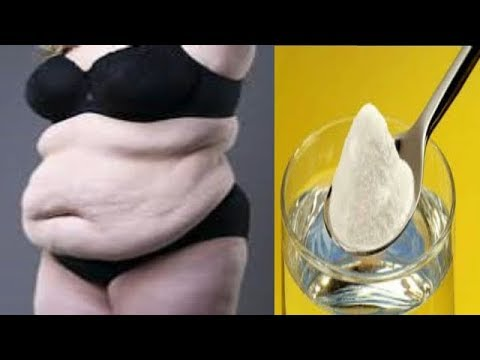 NO DIET NO EXERCISE REMOVE BELLY FAT IN ONE NIGHT USING ONE TABLESPOON OF BAKING SODA