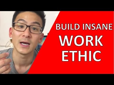 Work Ethic | How To Build Insane Work Ethic!