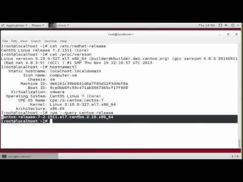 How to Check Your CentOS Version