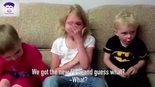 Pranking kids on Christmas day with fake football news| Kids reactions to football news