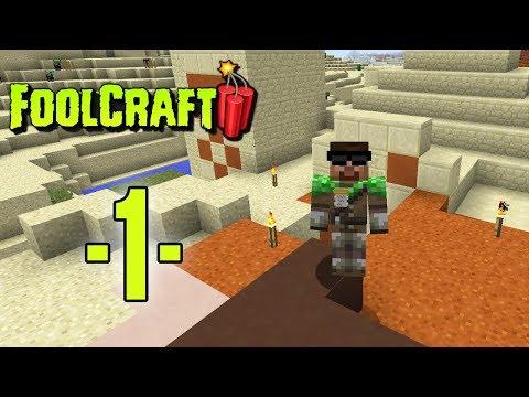 Dansk Minecraft - FoolCraft 3 #01 - Hvor skal vi bo? (HD)
