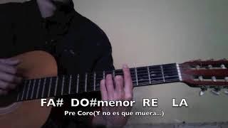 Como tocar Creeme de Karol g version acustica live en guitarra