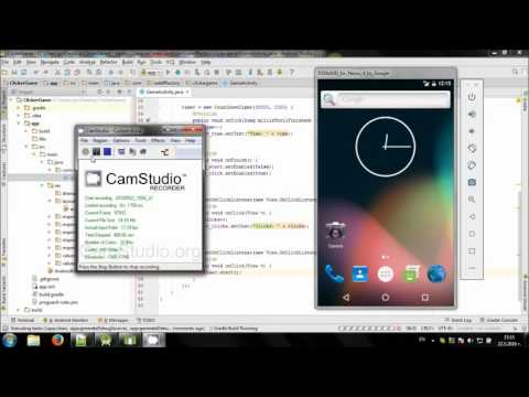 Develop simple Clicker Game in Android Studio