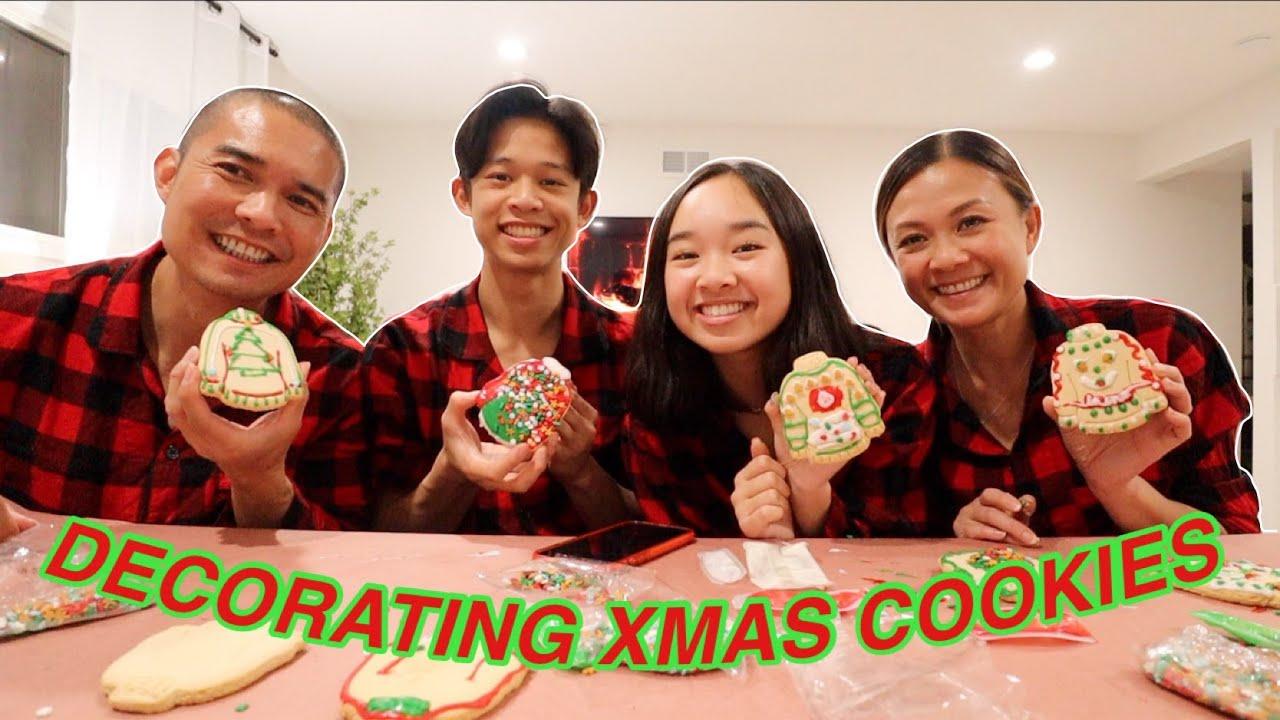 DECORATING CHRISTMAS COOKIES! Vlogmas Day 20 | Nicole Laeno