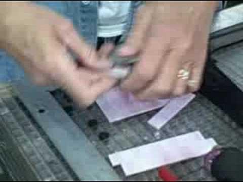 Glass Cutting,  blades of grass